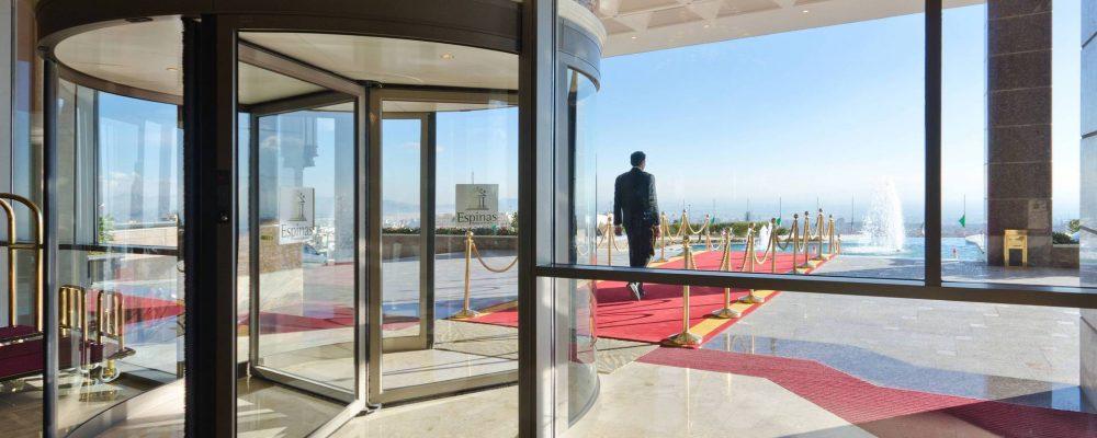 Espinas_Hotel_SABA_Besam_revolving_door